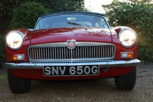 mgb lights front